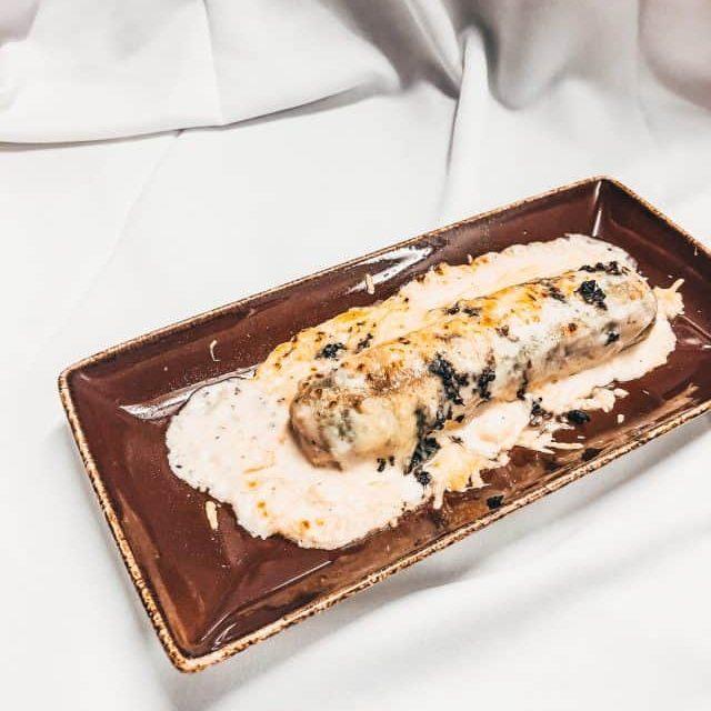 canelon pato carta restaurante vielha era lucana